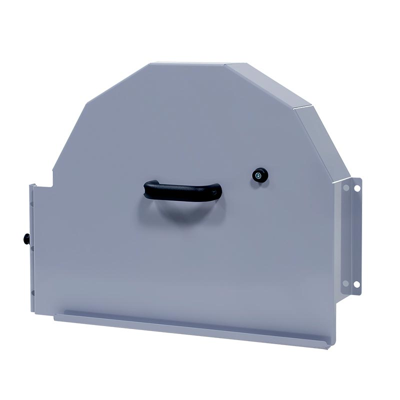 G Защитный кожух главного приводного шкива канатной машины Pentruder 3P8