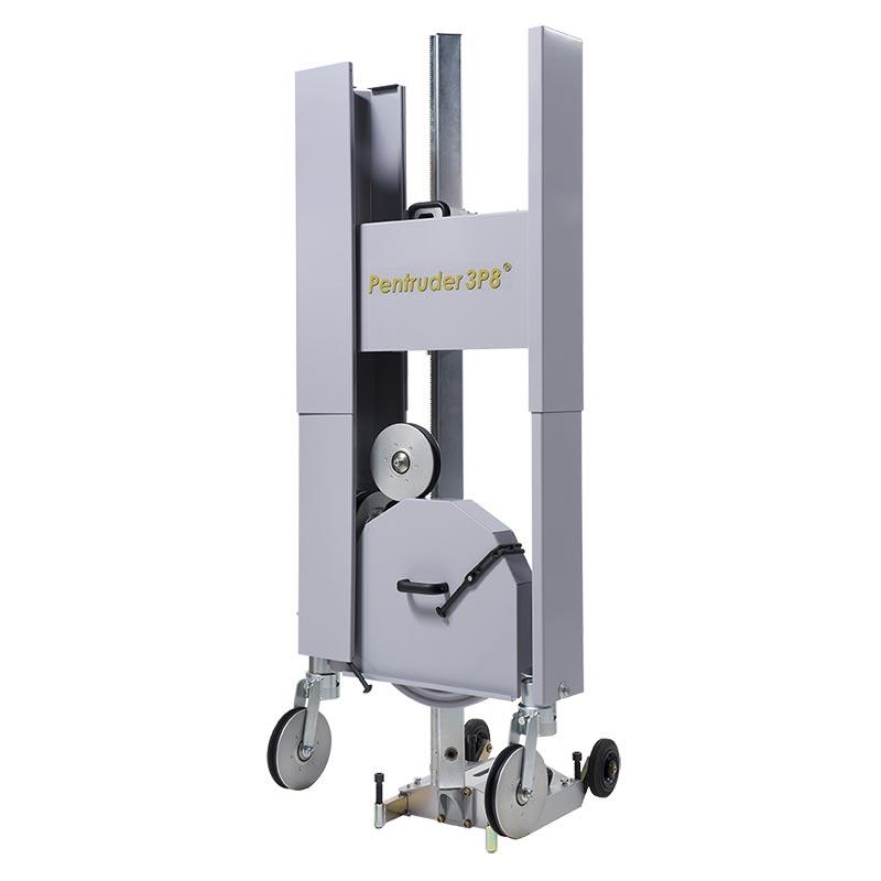 Канатная машина Pentruder 3P8 с защитными кожухами