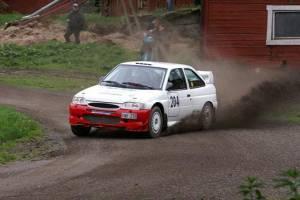 Адерс Йонсен за рулем своего Ford