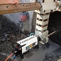 Сверление Ø 1000 мм сверлильной машиной Pentruder MD1-MDU