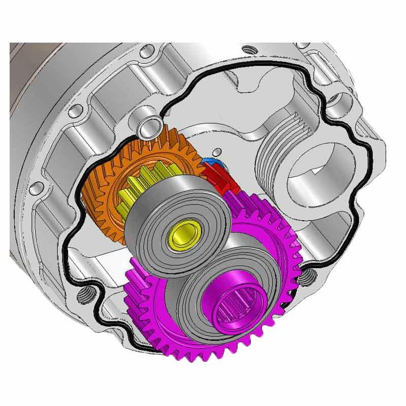 Охлаждение ВЧ-двигателя Pentruder