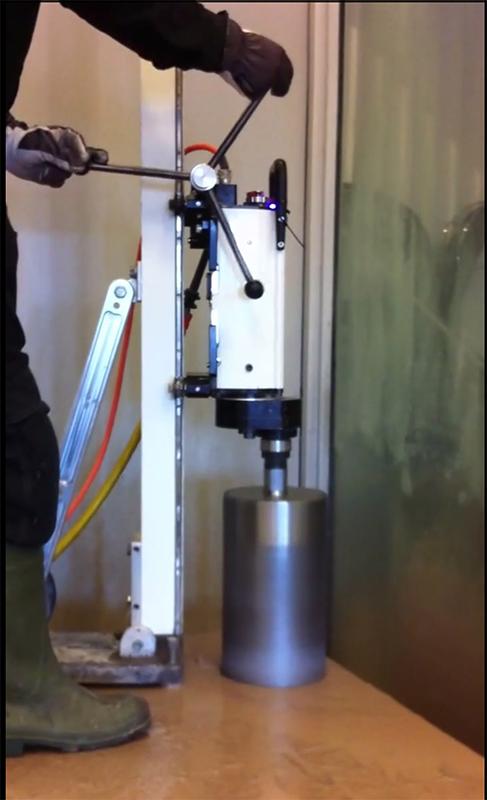 Сверление отверстий диаметр 200 мм