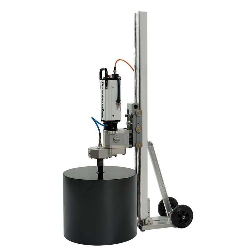 Установка алмазного бурения Pentruder MD1-MDU на сверлильной стойке Pentruder MCCS
