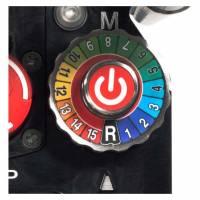 Переключение скоростей в модульной установке алмазного бурения Pentruder MDU-NTGRA