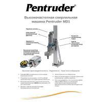 Техническое описание установки алмазного бурения Pentruder MD1-HF