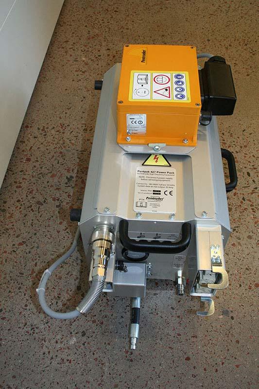 Радио пульт Pentruder на блоке упраления Pentpak 427