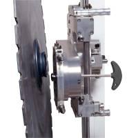 Быстросъемное подключения диска на стенорезной машине Pentruder