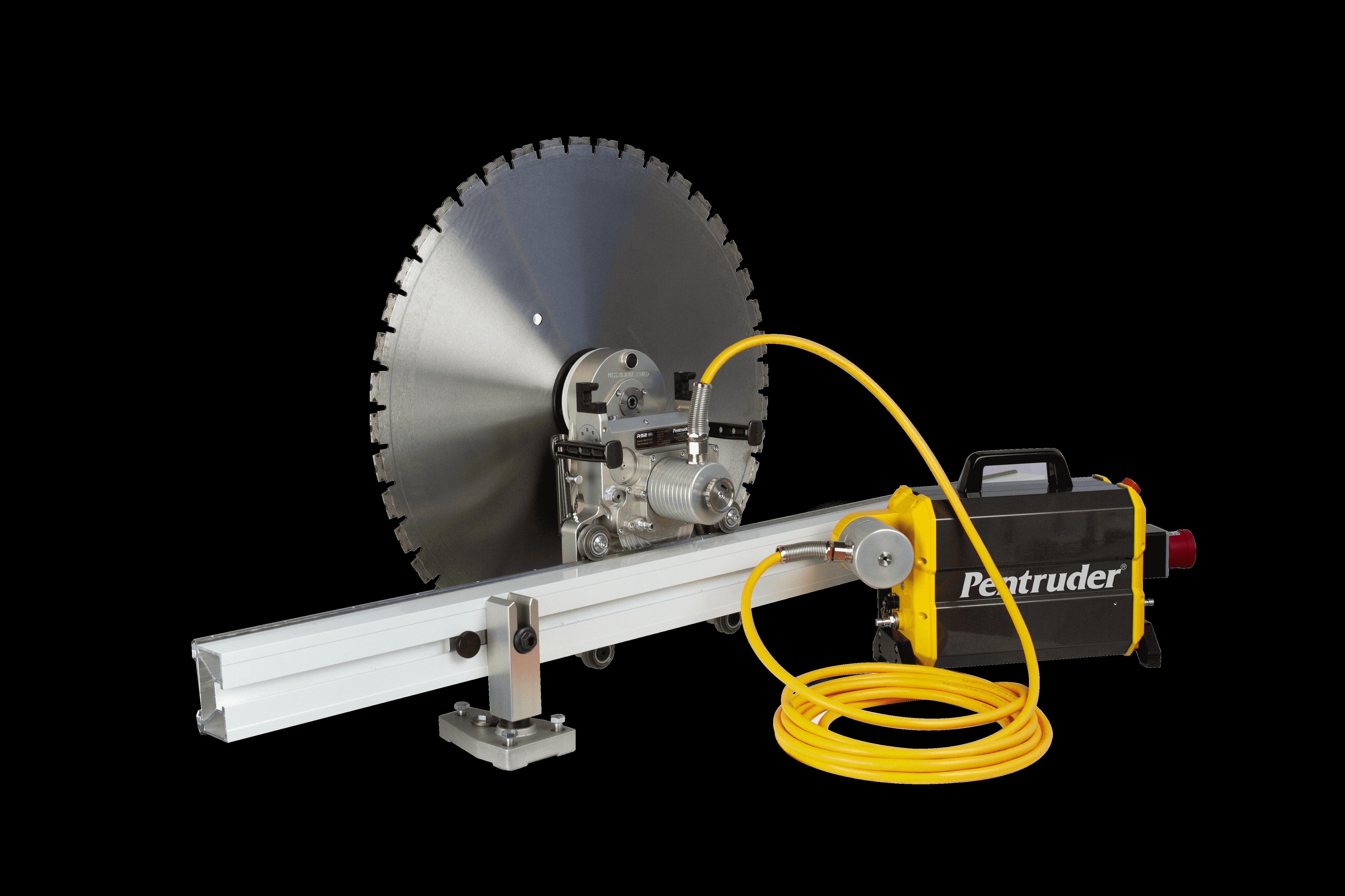 Стенорезная машина Pentruder RS2 и Pentpak 3