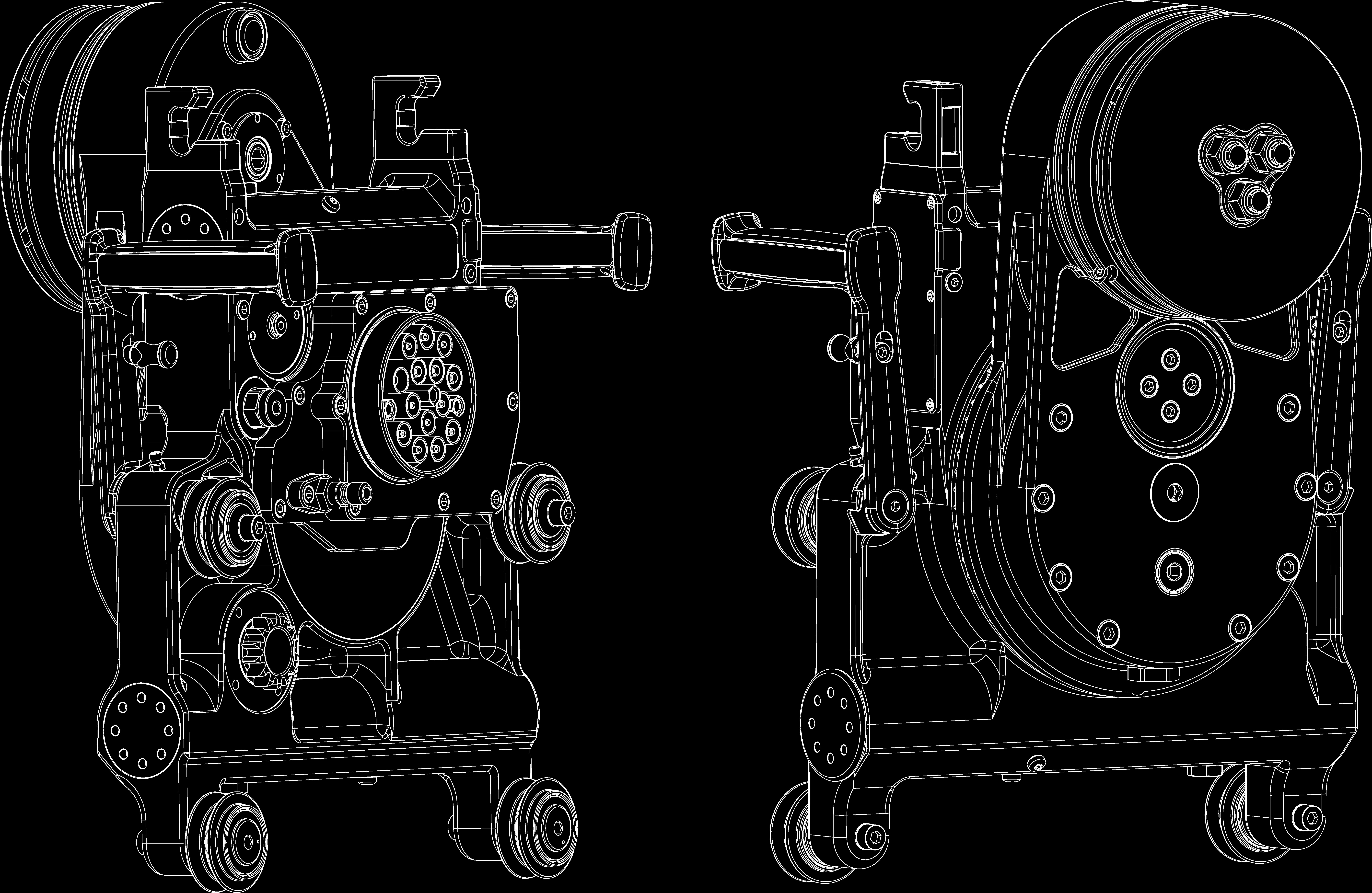 Схематичное изображение Pentruder RS2