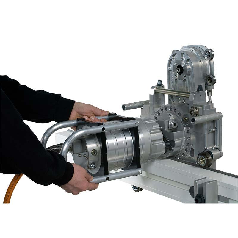 Легкое подключение двигателя к стенорезной машине Pentruder