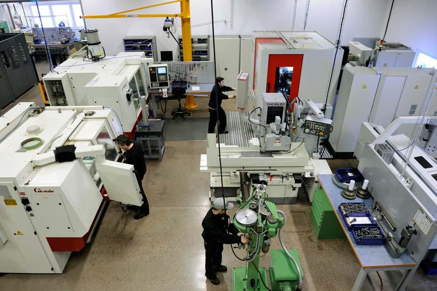 Часть производственных помещений Pentruder